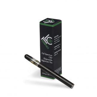 600 mg Full Spectrum CBD Vaporizer Cartridge - The Leaf