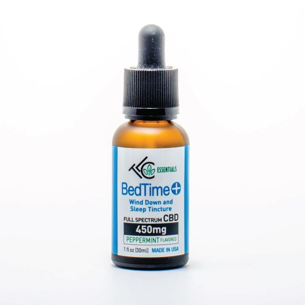 the leaf collaborative 450mg full spectrum wind down and sleep CBD Tincture