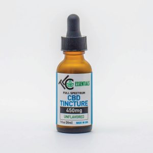 the leaf collaborative 450mg full spectrum CBD Tincture